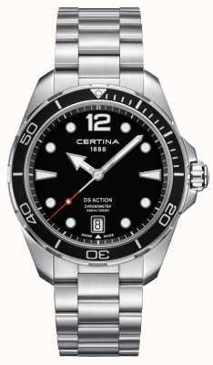 Certina Heren | ds actie | chronometer | roestvrij staal C0324511105700