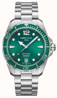Certina DS actie chronometer groene wijzerplaat C0324511109700