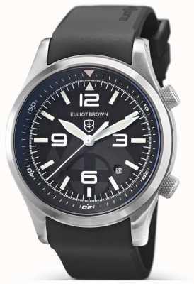 Elliot Brown Canford | bergredding speciale editie | zwart rubber 202-012-R01