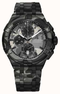 Maurice Lacroix Aikon   beperkte oplage   camouflage   automatisch AI1018-PVB02-336-1