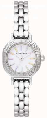 Olivia Burton | regenboog zilveren armband | roestvrij stalen armband | OB16CC52