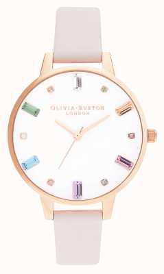 Olivia Burton | dames | regenboog bloesem | rose goud | OB16RB22