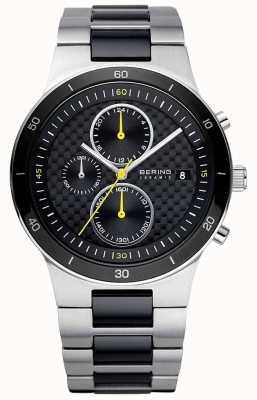 Bering | heren | keramische stalen armband | chronograaf horloge | 33341-749