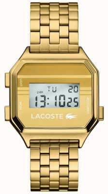 Lacoste Berlijn | digitaal display | gouden pvd armband 2020138