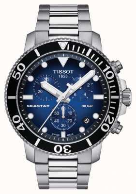 Tissot Heren seastar 30 bar 1000 chrongraph T1204171104101