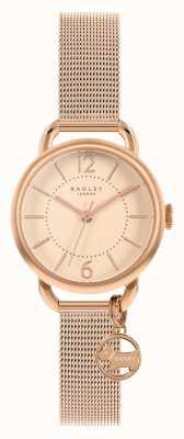 Radley | dames roségouden armband | rose gouden wijzerplaat | RY4528