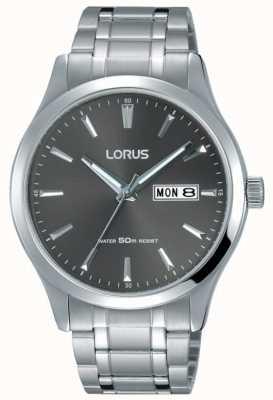 Lorus Heren roestvrij stalen armband grijze wijzerplaat RXN35DX9