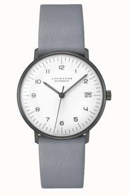 Junghans Max factuur automatisch | 38 mm zwart-wit 027/4007.04