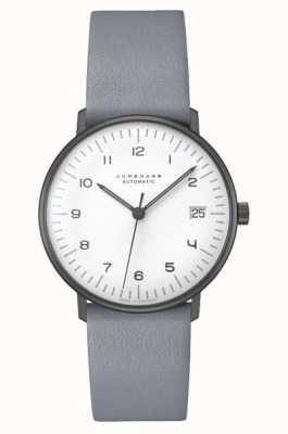 Junghans Max factuur automatisch | 34 mm zwart en wit 027/4006.04