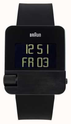 Braun Heren   prestige   digitaal   zwart rubber BN0106BKBKG