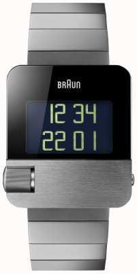 Braun Heren | prestige | digitaal | zwarte armband BN0106BKBTG