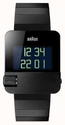 Braun Heren   aanzien   digitaal   zwarte armband BN0106BKBTG