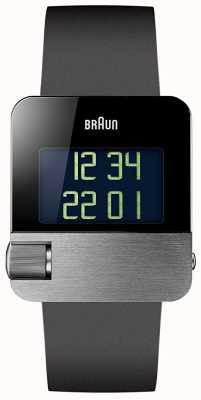 Braun Heren   prestige   digitaal   zwart rubber BN0106SLBKG