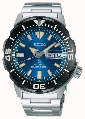 Seiko Prospex heren mechanisch | red de oceaan | blauwe wijzerplaat SRPE09K1