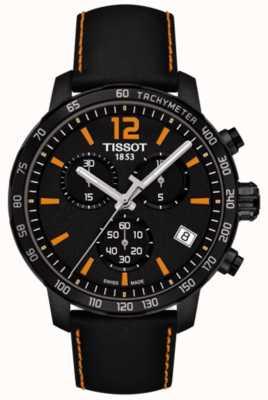 Tissot T-sport quickster chronograaf zwart en oranje T0954173605700