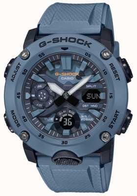 Casio Heren g shock carbon core horloge camouflage GA-2000SU-2AER