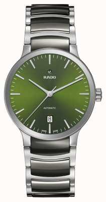 Rado Centrix automatische hightech keramische groene wijzerplaat R30010312