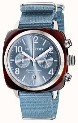 Briston Clubmaster klassieker chronograaf | 19140.SA.T.25.NIB