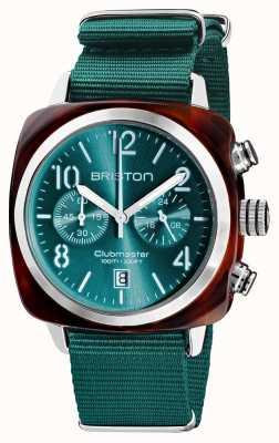 Briston Clubmaster klassieker chronograaf | 19140.SA.T.27.NE