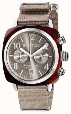 Briston Clubmaster klassieker chronograaf | 19140.SA.T.30.NT