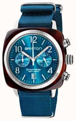Briston Clubmaster klassieker chronograaf | 19140.SA.T.31.NBD
