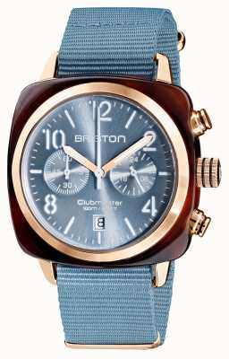 Briston Clubmaster klassieker chronograaf | 19140.PRA.T.25.NIB