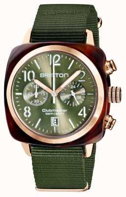 Briston Clubmaster klassieker chronograaf | 19140.PRA.T.26.NOL