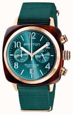 Briston Clubmaster klassieker chronograaf | 19140.PRA.T.27.NE