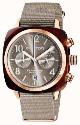 Briston Clubmaster klassieker chronograaf | 19140.PRA.T.30.NT