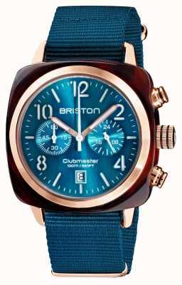 Briston Clubmaster klassieker chronograaf | 19140.PRA.T.31.NBD