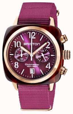 Briston Clubmaster klassieker chronograaf | 19140.PRA.T.32.NC