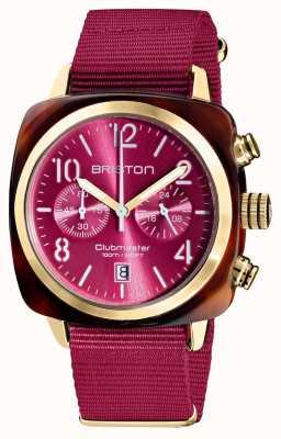 Briston Clubmaster klassieker chronograaf | 19140.PYA.T.28.NBER