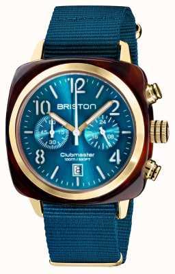 Briston Clubmaster klassieker chronograaf | 19140.PYA.T.31.NBD