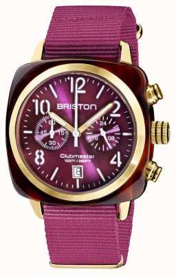 Briston Clubmaster klassieker chronograaf | 19140.PYA.T.32.NC