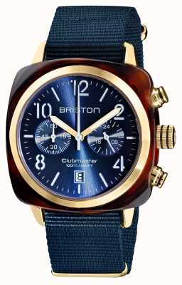 Briston Clubmaster klassieker chronograaf | 19140.PYA.T.33.NMB