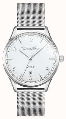 Thomas Sabo | glam en soul | stalen armband voor dames | zilveren wijzerplaat WA0360-201-202-36