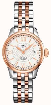 Tissot Dames | le locle | automatisch | two tone rose staal T41218316