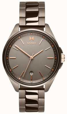 MVMT | coronada voor vrouwen | grijze ion-plated armband | grijze wijzerplaat 28000003-D