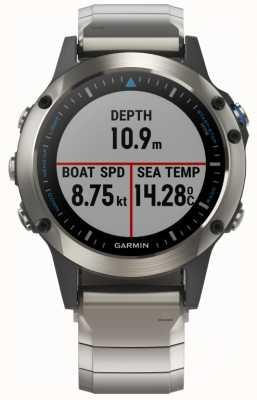 Garmin Quatix 5 | saffier | mariene smartwatch 010-01688-42