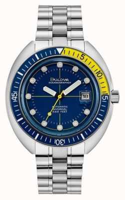 Bulova Oceanograaf-duiker uit de jaren 70 96B320