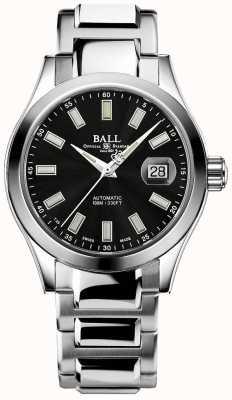 Ball Watch Company Heren | ingenieur iii | wonderlijk | roestvrij staal | zwarte wijzerplaat NM2026C-S23J-BK