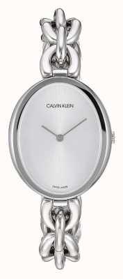 Calvin Klein | verklaring van de vrouw | roestvrijstalen schakelarmband | K9Y23126