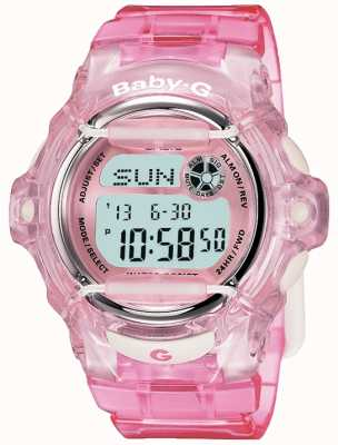 Casio Baby g roze band digitaal display BG-169R-4ER