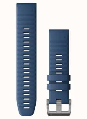Garmin Quickfit 22 blauwe siliconen band 010-12863-21