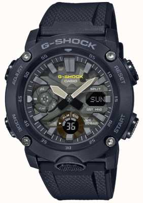 Casio G-shock | rubberen band | camouflage wijzerplaat GA-2000SU-1AER