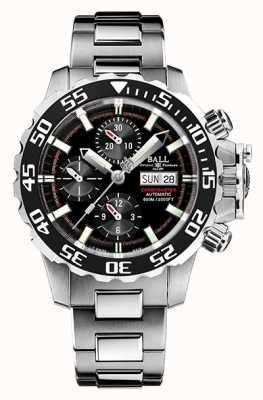 Ball Watch Company Engineer koolwaterstof nedu | roestvrijstalen armband | DC3026A-S4C-BK