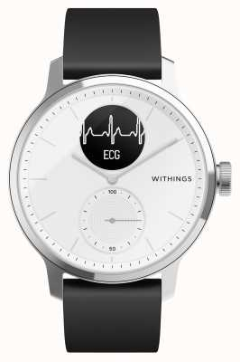Withings Scanwatch 38mm wit - hybride smartwatch met ecg HWA09-MODEL 1-ALL-INT