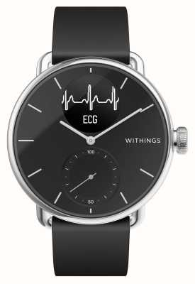Withings Scanwatch 38mm zwart - hybride smartwatch met ecg HWA09-MODEL 2-ALL-INT
