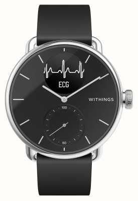 Withings Scanwatch 38mm zwart - hybride smartwatch met ecg HWA09-MODEL 2-ALL-INT