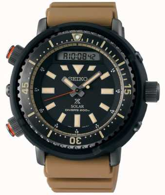 Seiko Prospex Arnie heruitgave Safari Solar Diver's SNJ029P1